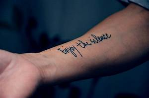 Word Tattoos Designs, Ideas and Meaning | Tattoos For You