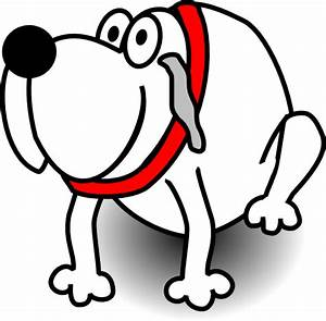 Gardian Dog White Clip Art at Clker.com - vector clip art ...