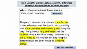AQA GCSE English Language Descriptive Writing: Extended ...