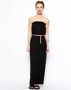 robe longue noire bustier pas cher la robe longue With robe longue pas cher zara