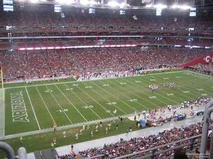 Seating Chart For State Farm Stadium State Farm Stadium Section 417 Arizona Cardinals