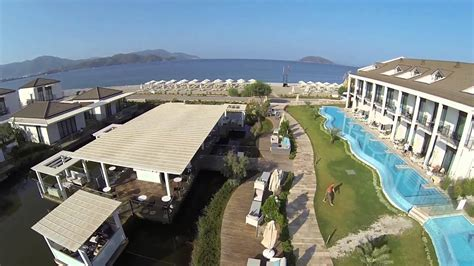 jiva beach resort fethiye corendon youtube
