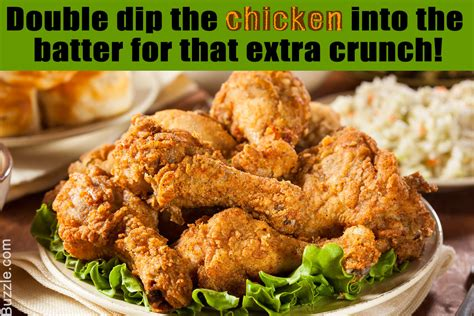batter chicken fried homemade perfect flavored double making those dishes recipes crunch marination extra dipping optional