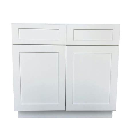 3 drawer kitchen cabinet bremen shaker ready to assemble 33 x 34 5 x 24 in base 3856