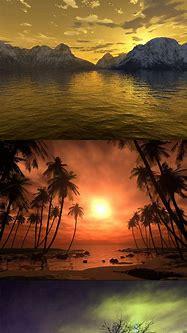 3D Sunset | Sunset, Celestial, Celestial bodies