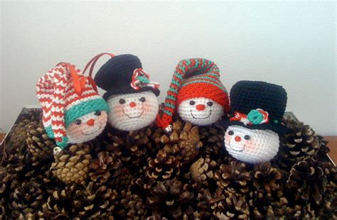 free crochet ornaments amigurumibb 39 s