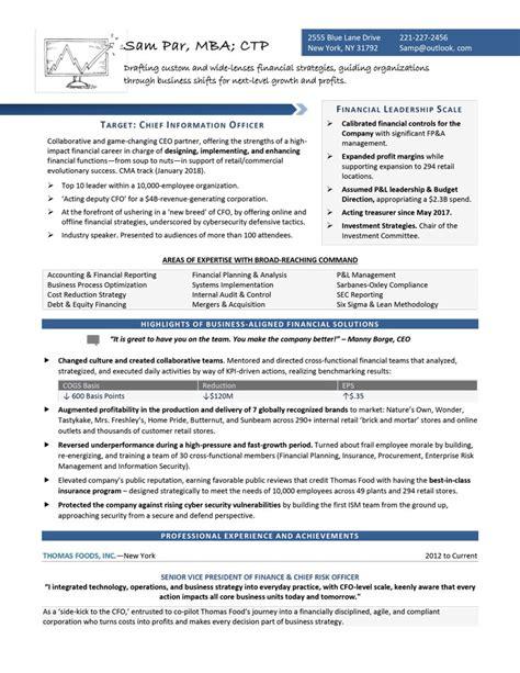 suite senior executive resume samples writing ceo