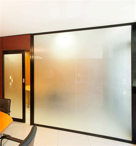 Interior: Extraordinary Glass Door And Glass Wall For Your