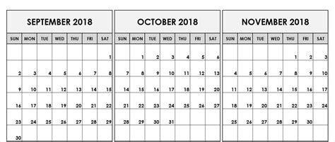 image result  august september october  calendar