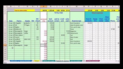 simple excel spreadsheet  small business db excelcom