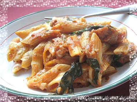 pate aux saucisse italienne gratin de p 226 tes aux saucisses