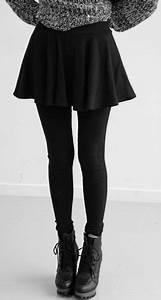 Best Black Skirt Leggings Photos 2017 u2013 Blue Maize
