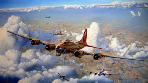 64 Boeing B-17 Flying Fortress Hd Wallpapers