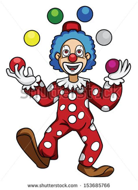 cartoon clown stock images royalty  images vectors