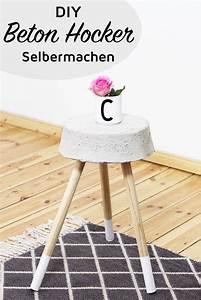 Beton Tisch Diy : diy beton hocker zum selber bauen stylisches wohn accessoire ~ A.2002-acura-tl-radio.info Haus und Dekorationen