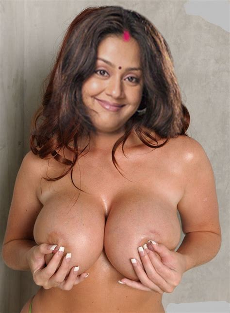 Tamil Actress Jyothika Saravanan Nude Image Big Boobs