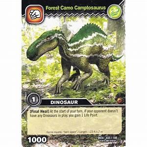 Upper Deck Dinosaur King Card DKTA-035 Forest Camo ...
