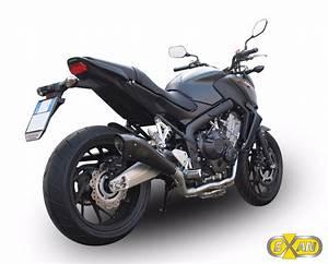 Cb 650 F A2 : honda cb 650 f 2015 2016 exan x black evo exhaust full system carbon cap new ebay ~ Maxctalentgroup.com Avis de Voitures