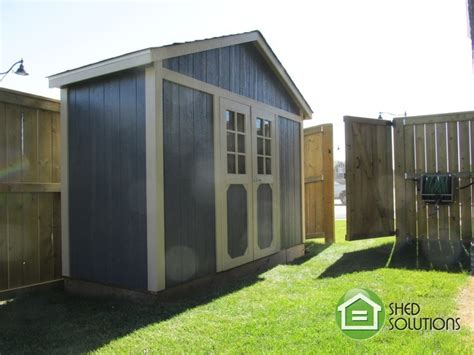 shed solutions edmonton leanto sheds and other small models shed solutions