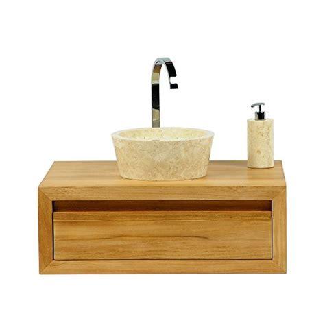wohnfreuden marmor waschbecken 30 cm gro 223 rund creme naturstein waschplatz handwaschbecken