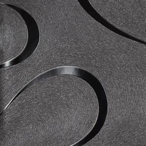 Vliestapete luigi colani grafisch schwarz 53340 for Balkon teppich mit tapeten von marburg