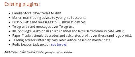 Gekko Trading Bot: pilnīgs ceļvedis šim bezmaksas ...