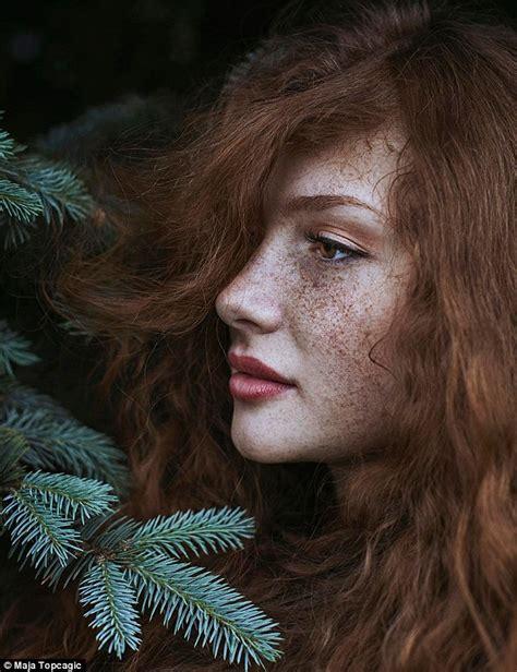 Photographer Maja Topcagic Captures Portraits Of Redhead