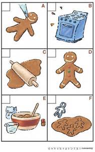 Gingerbread Man Sequencing Printable