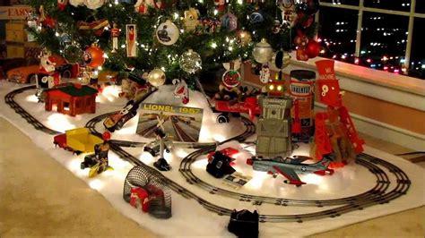 christmas  nostalgia toys  lionel train