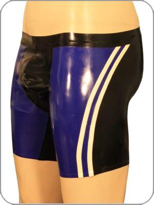 latex rubber cycle shorts quantum radhose