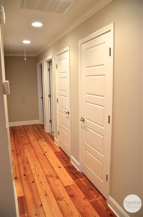 flip house bedrooms   hallway