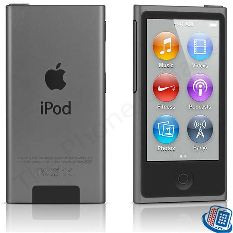 Apple Ipod Nano 8th Generation Space Gray 16gb Bluetooth Touch Mkn52ll A 888462471756 Ebay