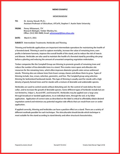 Technical Resume Exles by Memo Format Report Progress Report Technical Writing