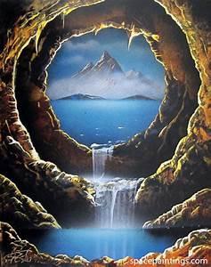 Crater Cave Recreation  U2013 Spacepaintings Com
