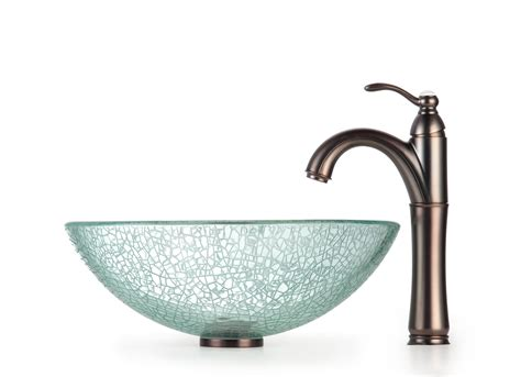 Luxurious Bathroom Design With Vessel Sink And