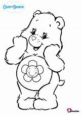 Coloring Bear Care Bears Pages Harmony Bubakids sketch template