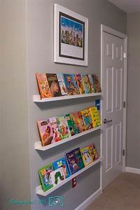 Bookshelf shelves home design for Best brand of paint for kitchen cabinets with girls nursery wall art
