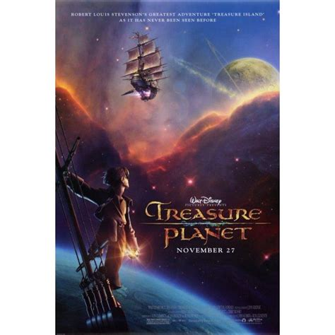 High resolution official theatrical movie poster (#1 of 3) for treasure planet (2002). Treasure Planet (2002) 27x40 Movie Poster - Walmart.com - Walmart.com