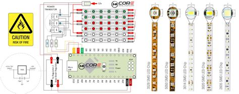 Wiring Analog Led Strip With Mcu