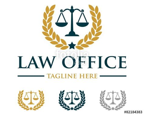 quot scale of justice law firm logo v 3 quot stock image and royalty free vector files on fotolia com
