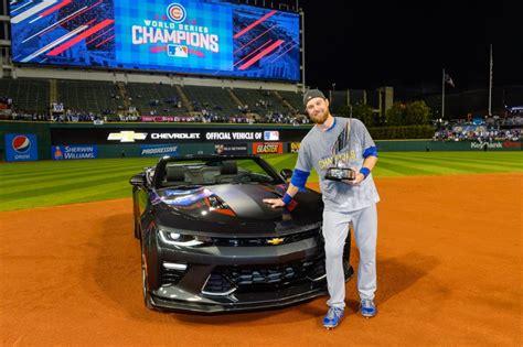 2016 World Series Mvp Ben Zobrist Gets A Special Chevrolet