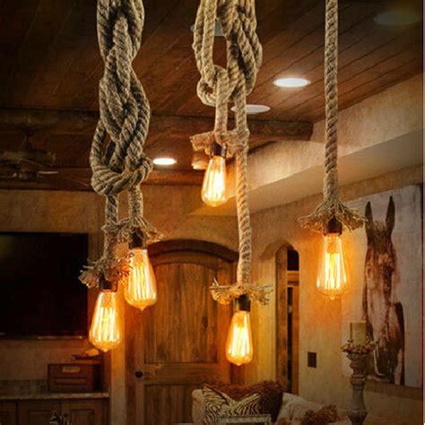 led chandelier bulbs vintage loft pendant lights hemp edison bulb e27