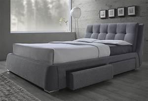 Fenbbrook, Gray, King, Platform, Storage, Bed, 300523ke, Coaster, Furniture