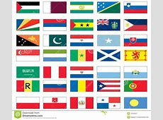 Flags Of The World 6 Of 8 Royalty Free Stock Photography