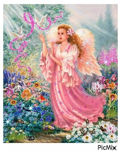 Picmix Engel Malerei Regenbogen Besuchen Feen Gemerkt