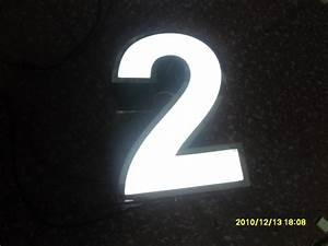 factory outlet outdoor acrylic led house number stainless With acrylic numbers and letters