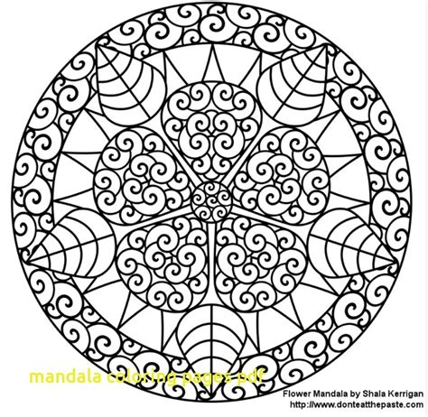 Mandala Coloring Pages Pdf With