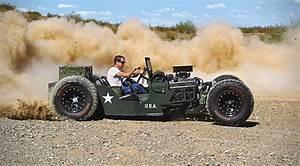 1945 Willys Jeep Rat Rod HiConsumption