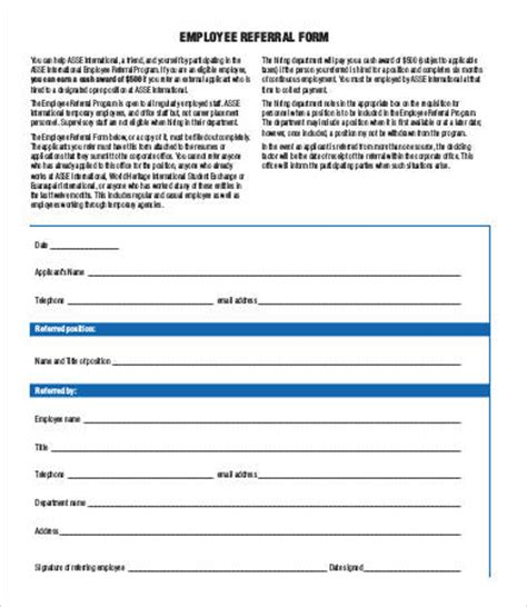 referral form template    documents