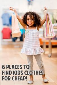 6 Places to Find Kids Clothes for Cheap